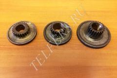 Блок-шестерни для тележки передвижения тельфера 0,5-5,0 т.