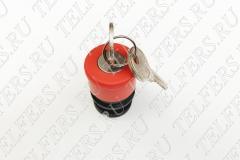 Аварийный стоп + поворотный ключ-марка ZA2BS74
