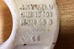 Крюковая подвеска в сборе 0,5 т. полиспаст 2/1 (кат. № 192100) Балканско ехо ЕООД