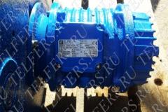 Электродвигатель с тормозом КК 1407-6 на тележке передвижения тельфера серии ЕК160 грузоподъемностью 5,0 т.