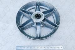 Тормозное колесо (вентилятор) электродвигателя КГ 2714-6