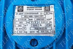 Тельфер цепной BE011M производитель Балканско ехо ЕООД Габрово