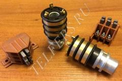 Блок контактных колец (коллектор кольцевой) со щеткодержателем (тип 2) для тали серии ТЭ грузоподъемностью 1-2 тонны