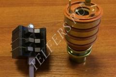 Блок контактных колец (коллектор кольцевой) со щеткодержателем (тип 1) для тали серии ТЭ грузоподъемностью 1-2 тонны