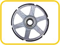 Тормозное колесо электродвигателя подъема