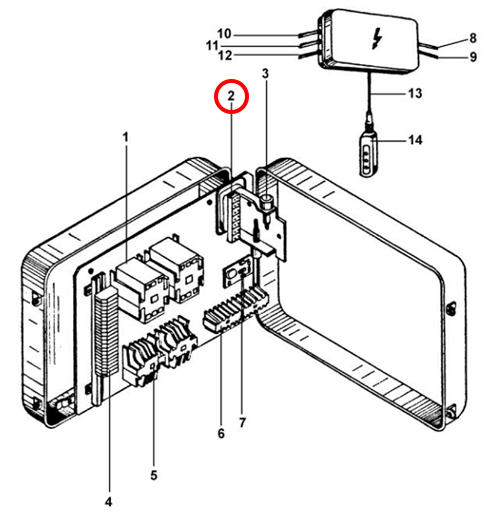 Пускозащитный трансформатор для тельфера