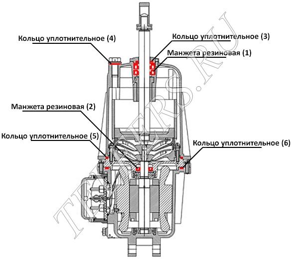 Ремкомплект гидротолкателя
