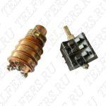 Коллектор в сборе для тали грузоподъемностью 1-2 т. (блок контактных колец 28мм + щеткодержатель тип 1) Артикул: ТК-ТЭ-100-28-1-001