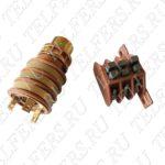 Коллектор в сборе для тали грузоподъемностью 1-2 т. (блок контактных колец 30мм + щеткодержатель тип 2) Артикул: ТК-ТЭ-100-30-2-001