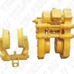 Комплект тележек (приводная+холостая) ТШП-25 (сб.102) + ТШН-25 (сб. 103)